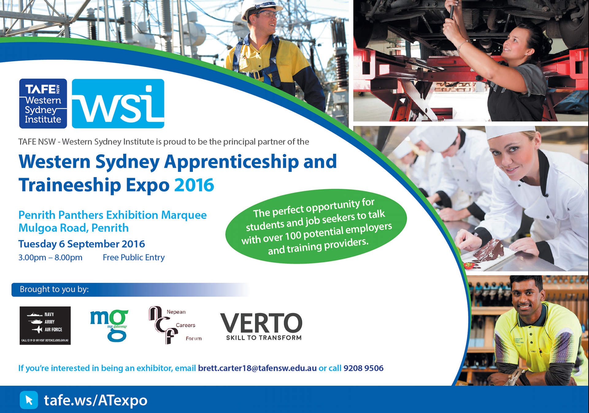 Western Sydney Business Connection - TAFE NSW WSI To Partner